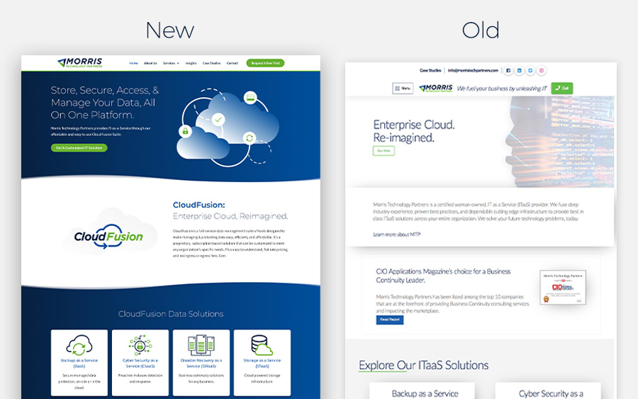 New design for data management software