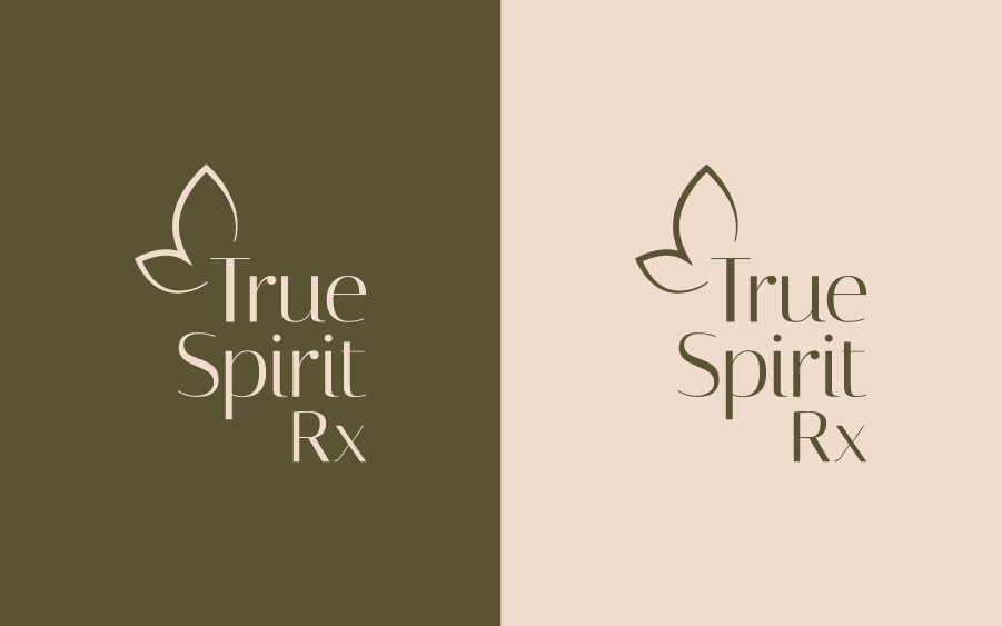 Logo lockups for health and wellness brand