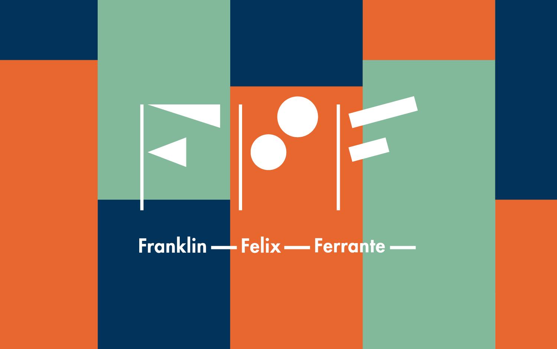 Logo design for law firm on patterned background