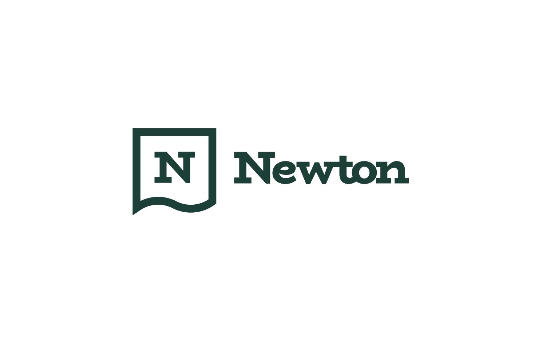 Newton branding logo design