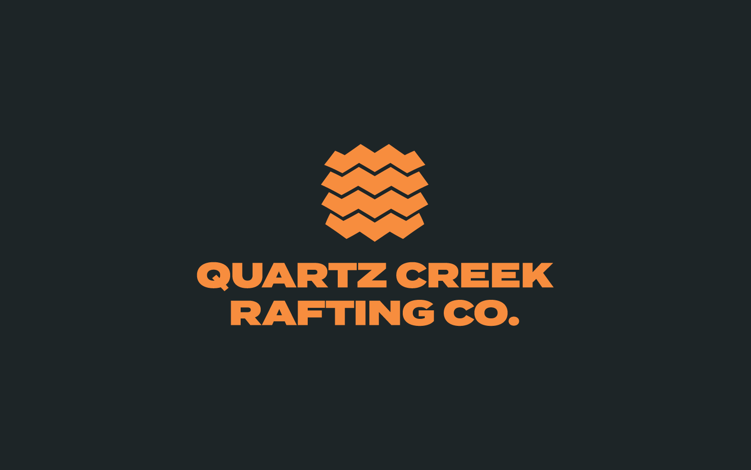 Logo design for white water rafting company