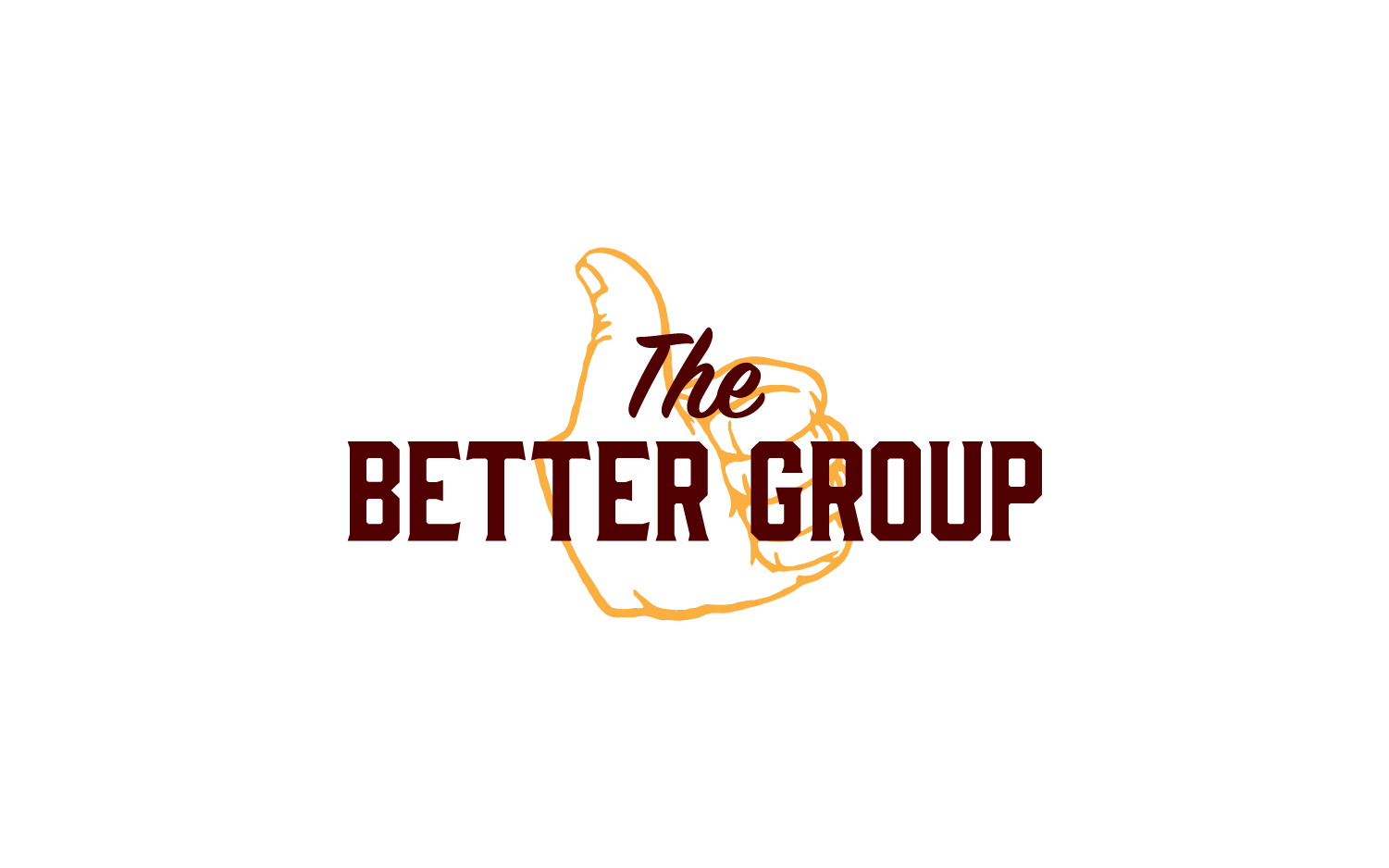 The Better Group, non-profit logo and branding presentation