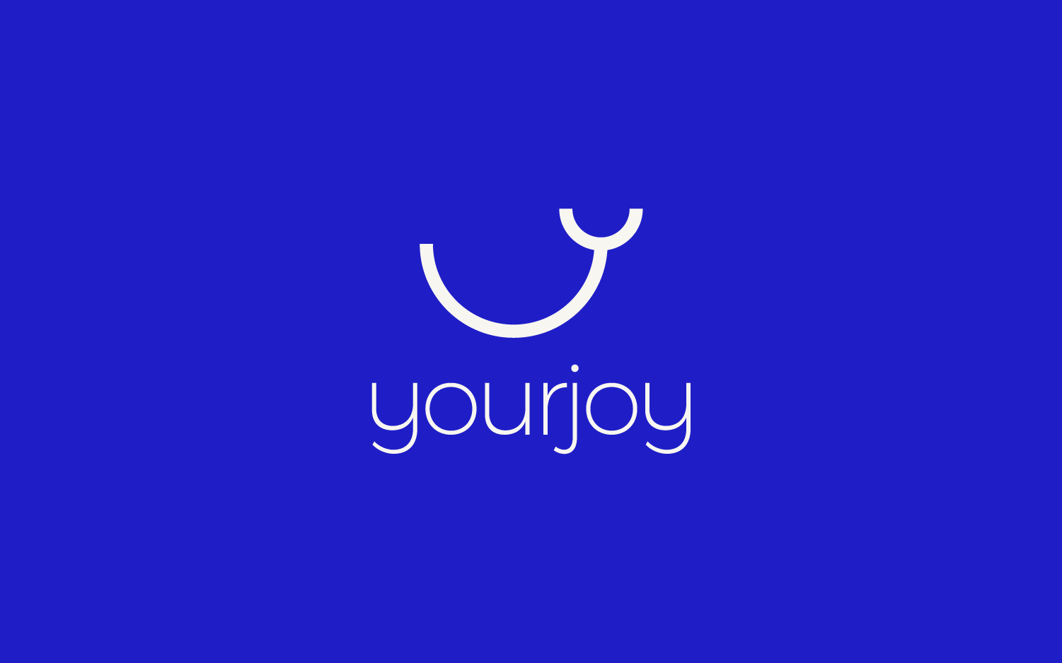 yourjoy logo design presentation