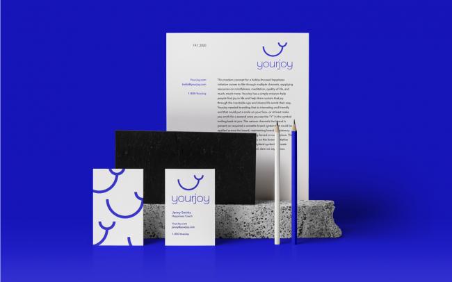 yourjoy collateral design presentation